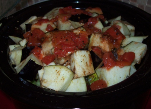 Chicken Eggplant Caponata Crock Pot Recipe