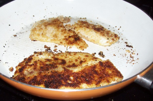 Roasted Garlic & Parmesan Breaded Tilapia