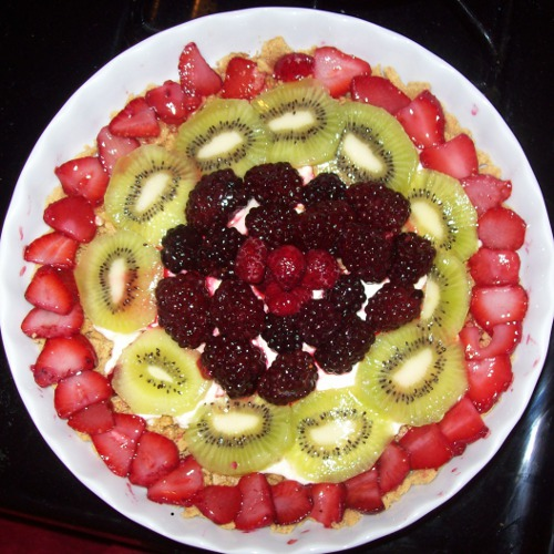 Low Calorie Fresh Fruit Tart – Fast & Easy