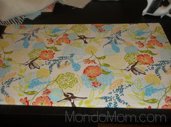 Fabric kitchen mat