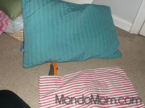 no-sew pillow cover supplies