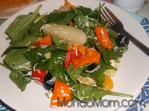 Pear and arugula salad recipe