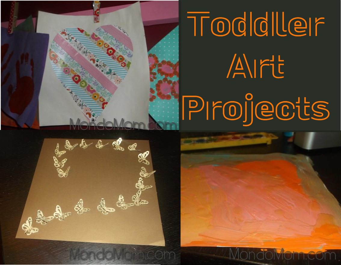 Toddler arts crafts projects
