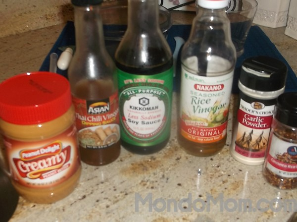 Asian slaw dressing ingredients