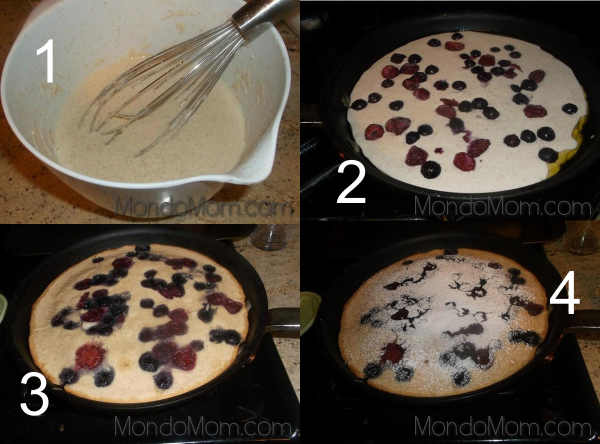 Baked Pancake: Recipe Steps