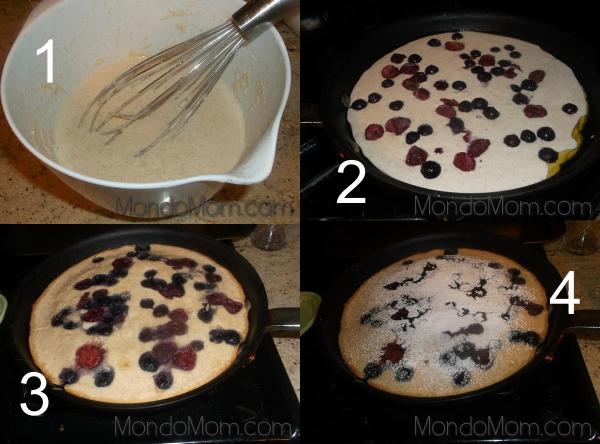 Baked Pancake: Recipe Steps