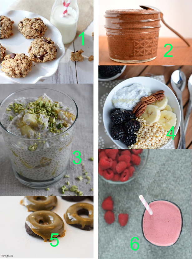 Chia seed dessert recipes