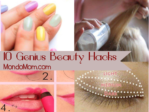 10 Genius Beauty Hacks