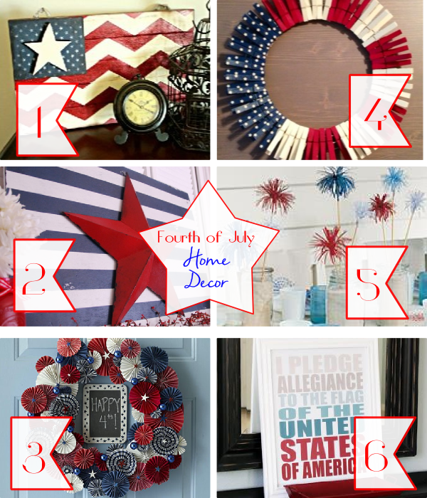 July 4 home decor DIY projects