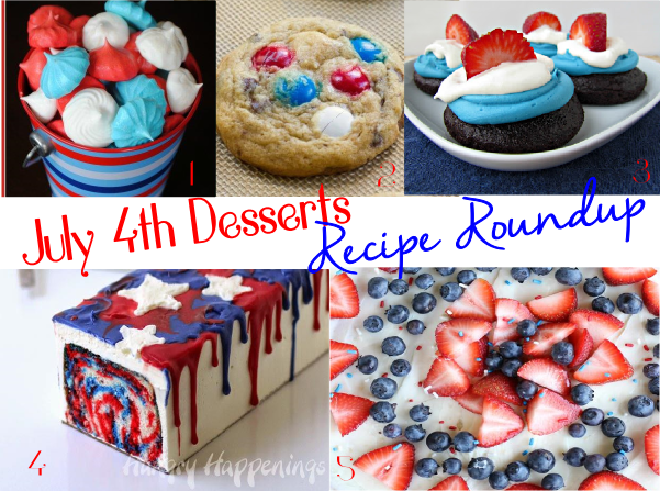 July 4 Dessert Recipes