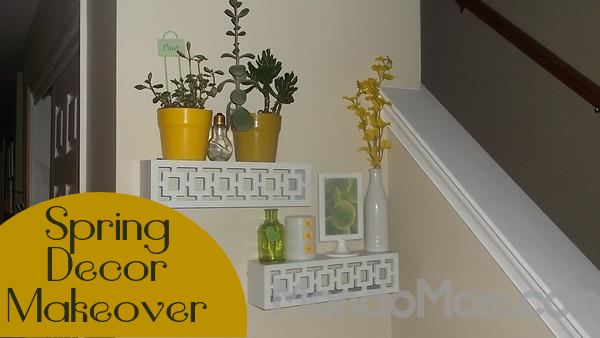 Spring Decor Makeover