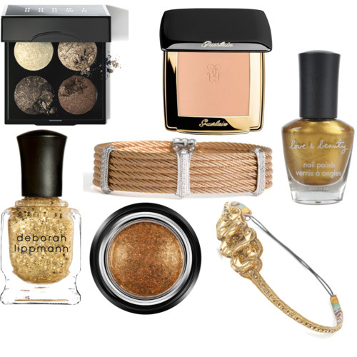 Gold Cosmetics for Thanksgiving