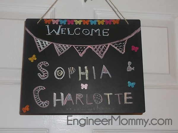 Personalized Blackboard Sign