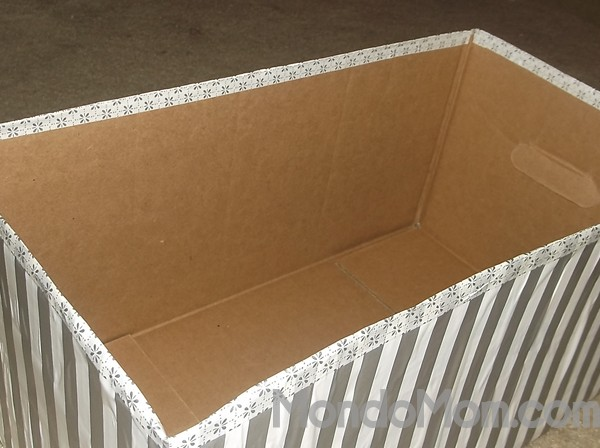 Diaper Box Storage