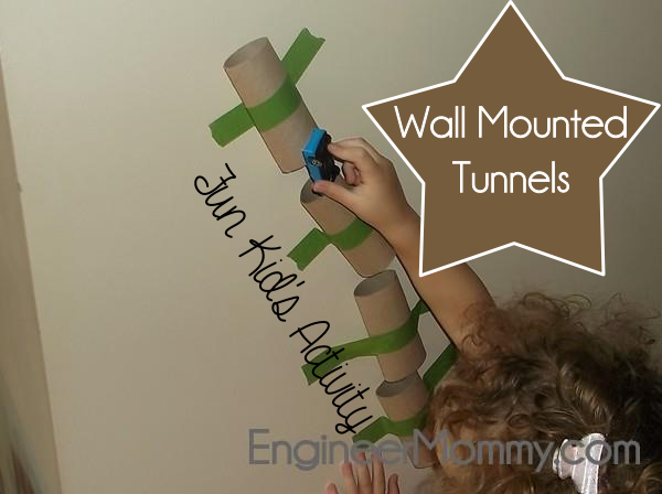 Wall Mounted Tunnels Activity