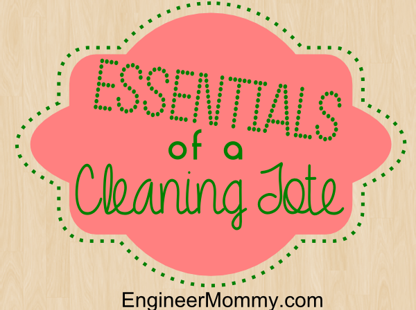 Cleaning Tote Supplies