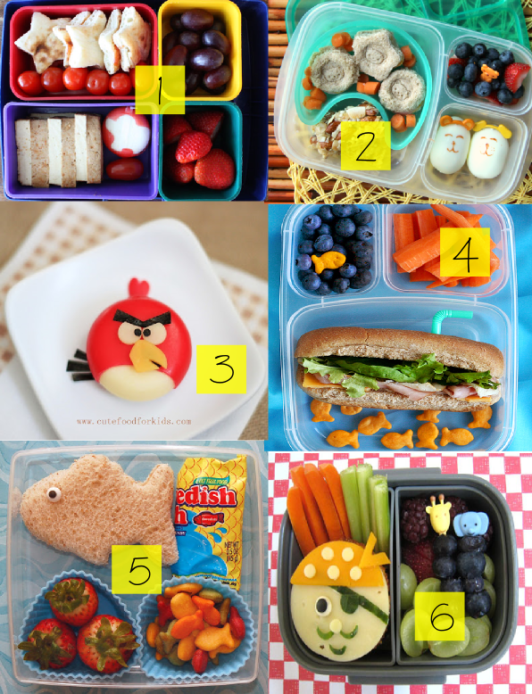Cute Creative Lunch Box Ideas