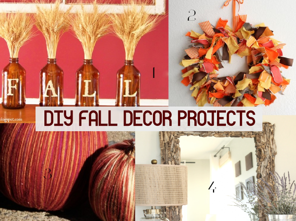 DIY fall décor projects