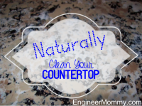 Clean your countertops naturally