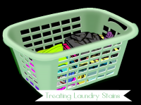 Clean laundry spots and stains