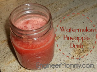 Watermelon pineapple drink {only 3 ingredients}