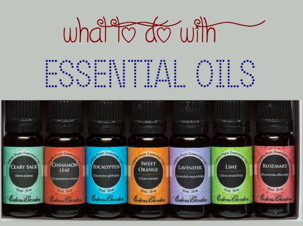 What to do with essential oils
