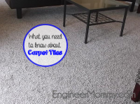 What you need to know about carpet tiles: Simply Seamless DIY carpet installation