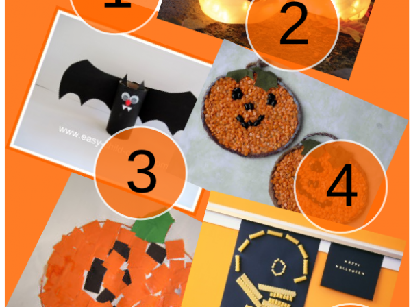 Halloween kids' craft projects