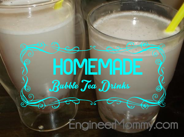 Homemade Bubble Tea Drinks