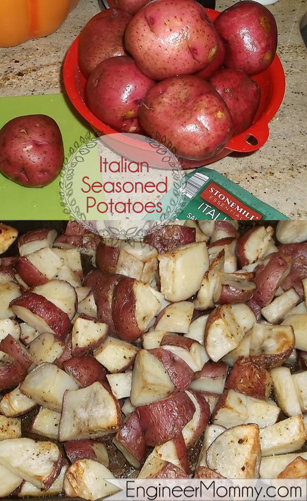 Italian seasoned potatoes recipe