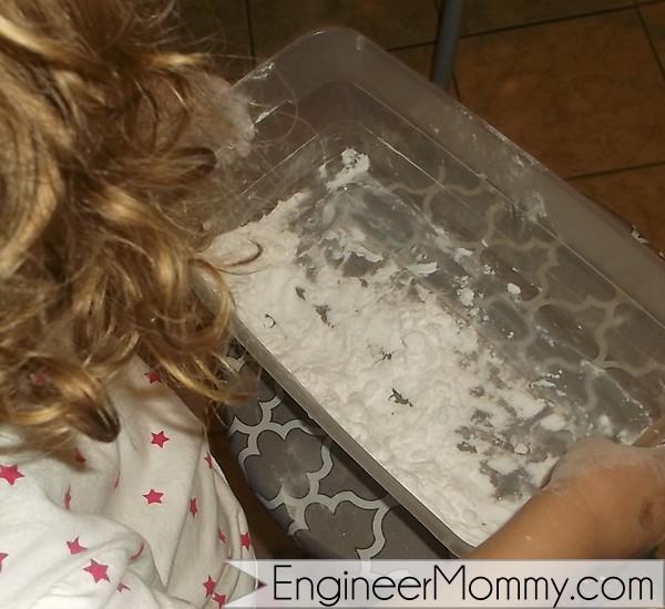 Baking soda and vinegar experiment