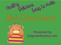 Easy and delicious after-school snacks