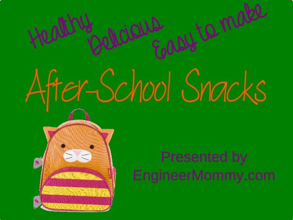 After-school snacks