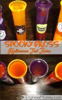 Halloween decor: spooky test tubes