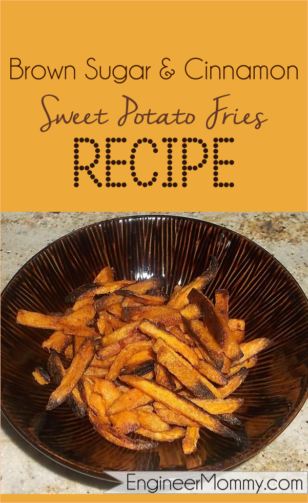 Cinnamon brown sugar sweet potato fries