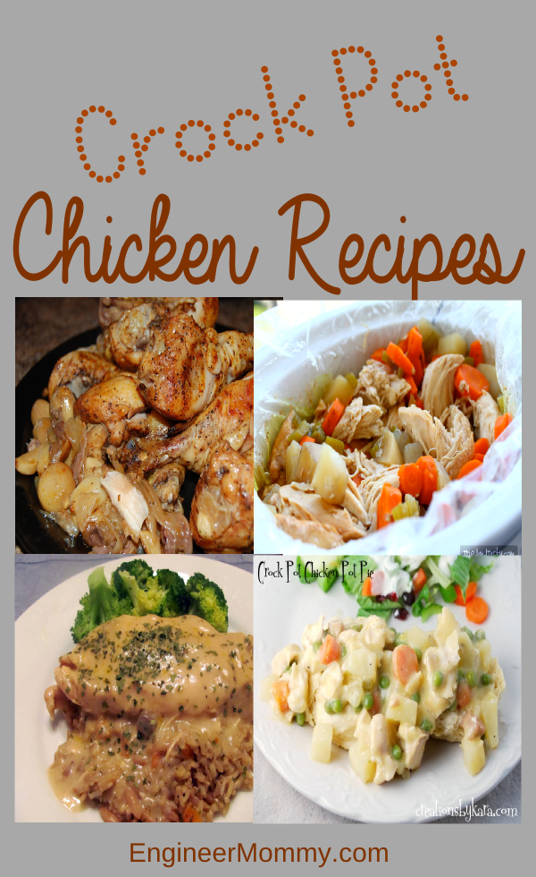 Crock pot chicken meals