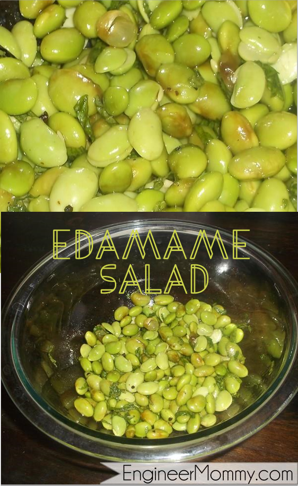 Health Benefits of Edamame & Edamame Salad Recipe