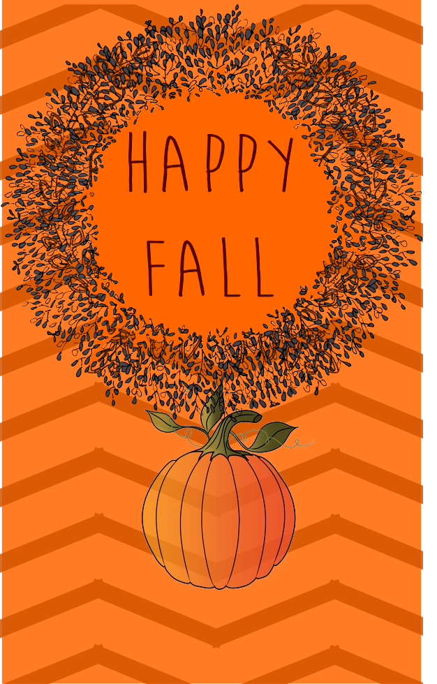 Happy Fall free printable