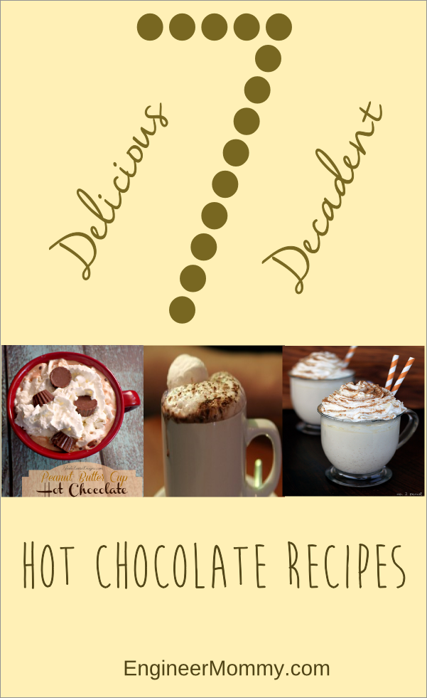7 Delicious Decadent Hot Chocolate Recipes
