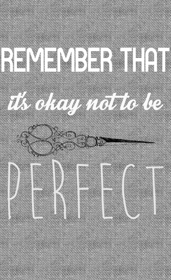 Not to be Perfect Free Printable