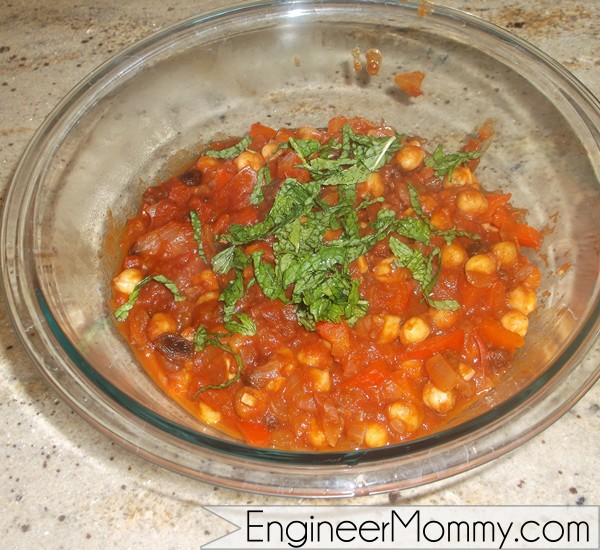 Spicy Moroccan Vegetable Stew