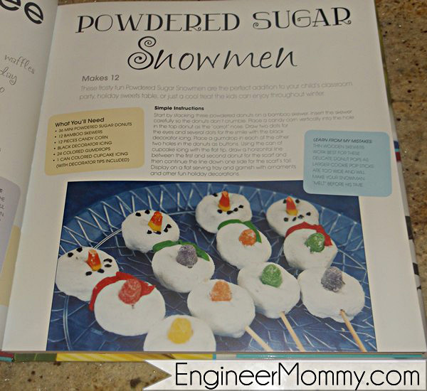 Powdered snowmen