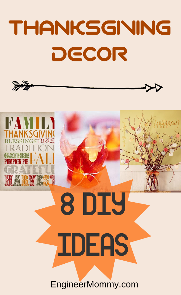 Thanksgiving DIY Décor Ideas
