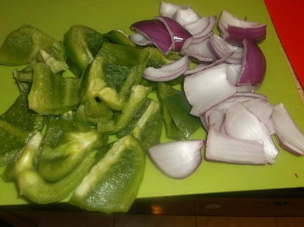 Veggies for Chicken Kabobs