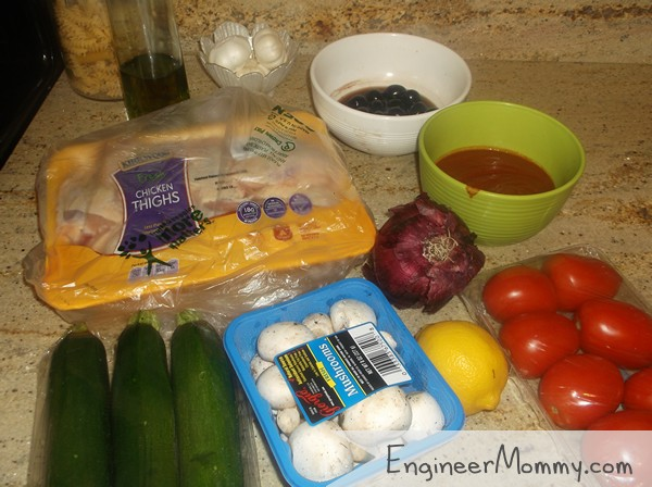 Ingredients for Skillet Meal