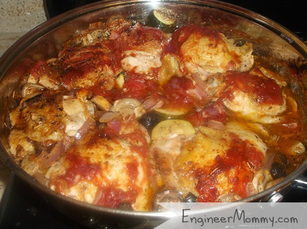 Chicken Thigh Skillet Meal Recipe
