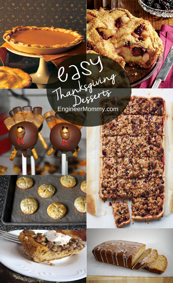 Easy Thanksgiving Desserts