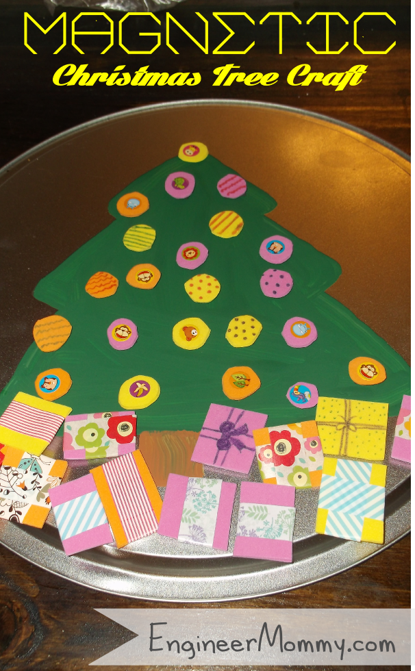 Magnetic Christmas Craft