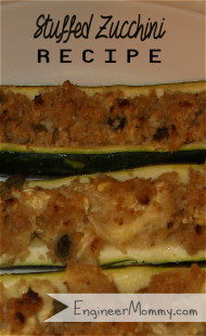 Stuffed Zucchini {Recipe}