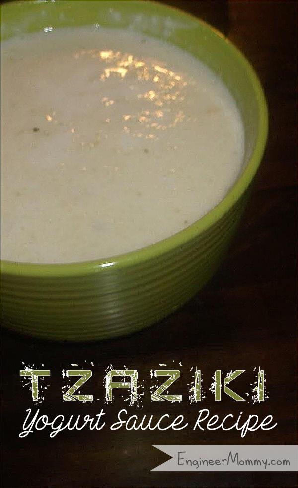 Tzaziki Yogurt Sauce